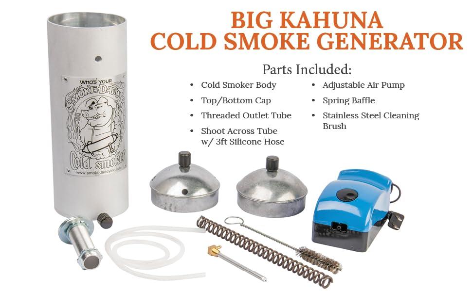Cold smoker smoking machine for fish and meat smoke generator