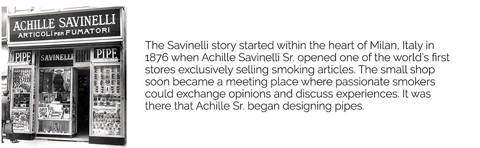 Savinelli Story
