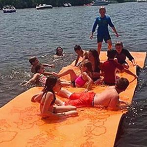 Amazon Com Maui Mat By Aqua Lily Products Floating Foam