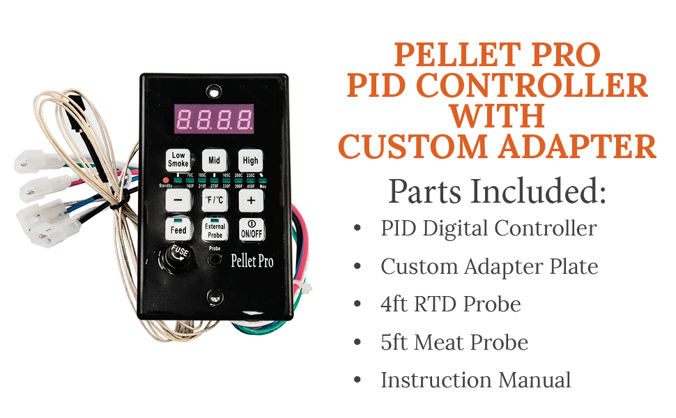 Smoke Daddy PID Pellet Grill Controller - Compatible with Other Pellet  Grill Brands