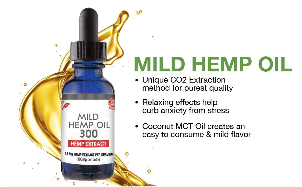 Mild Hemp Oil