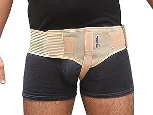 Amazon Com Wonder Care 174 Inguinal Hernia Belt For Men