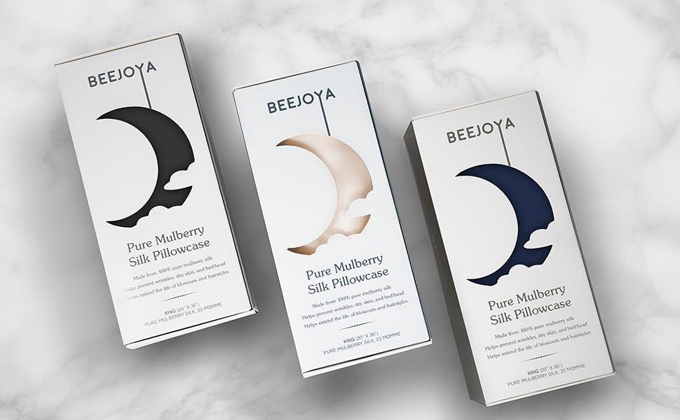 beejoya silk pillowcase