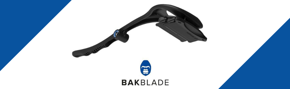 back blade bakblade retract shave dual groom grooming travel handle black pain free wet dry men hair