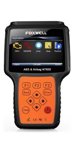 Amazon com: FOXWELL NT510 OBD2 Scan Tool for Honda Acura All System