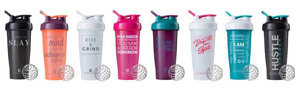 Amazon.com : GOMOYO Push Harder Blender Bottle Shaker Cup
