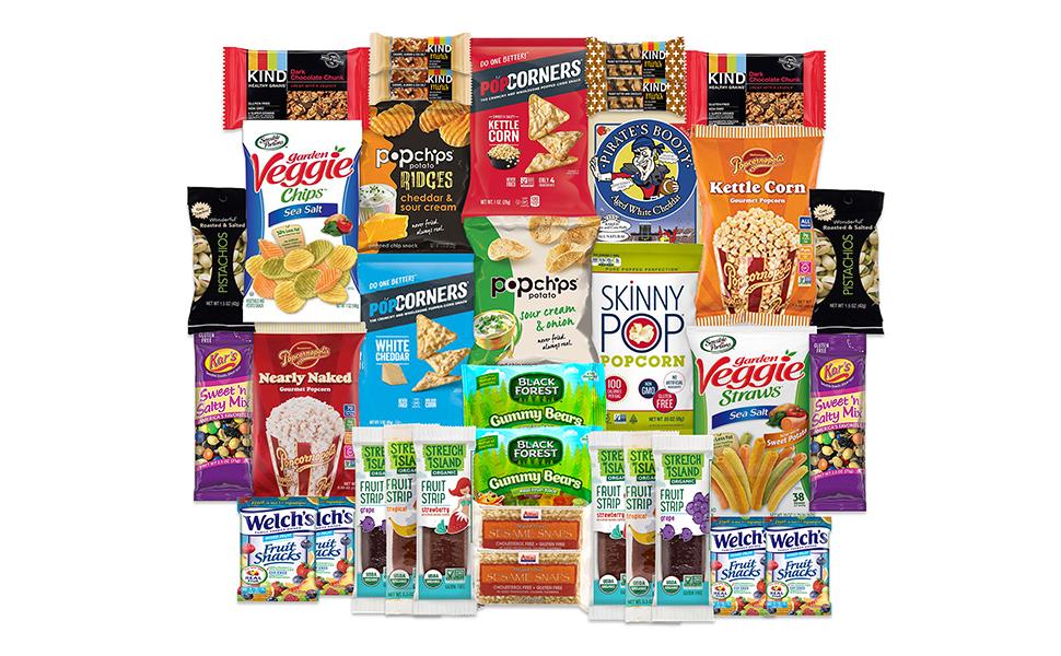 Gluten Free Care Packages kars black forest popchips popcorners
