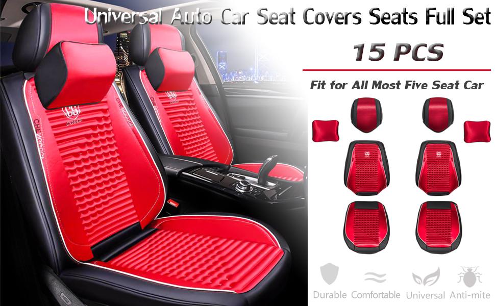 CAR SEAT COVER SET TRAX BLUE PANEL 12+ FORD  B MAX 2 X CLIP