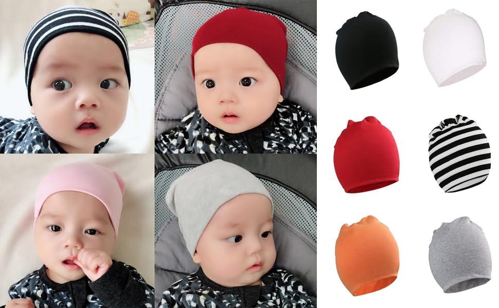 Amazon.com  Jiuhong Baby Beanies Hat Toddler Knit Beanie Kids Soft ... 2fbf3f17f6f