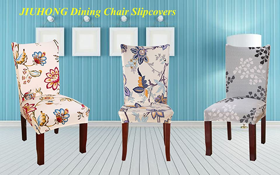Redecorate Your Dining Room In Style With This Sure Fit Stretch Chair Cover It Comes A Rich Color Pallet That Blends Most Decor