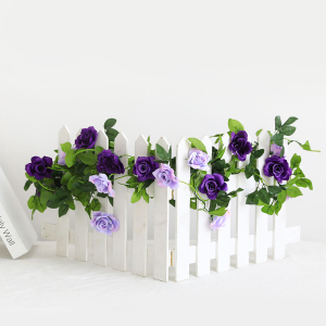 Artificial Rose Vines Flowers Garland