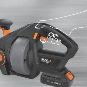 Drain Auger 20 Volt Max Li Ion 25ft 7m Replaceable