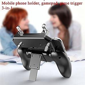 Multi-function mobile phone holder