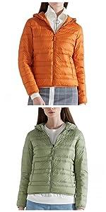 Amazon.com: CHERRY CHICK Womens Light Weight Down Jacket ...