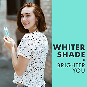 Whiter Shade. Brighter you
