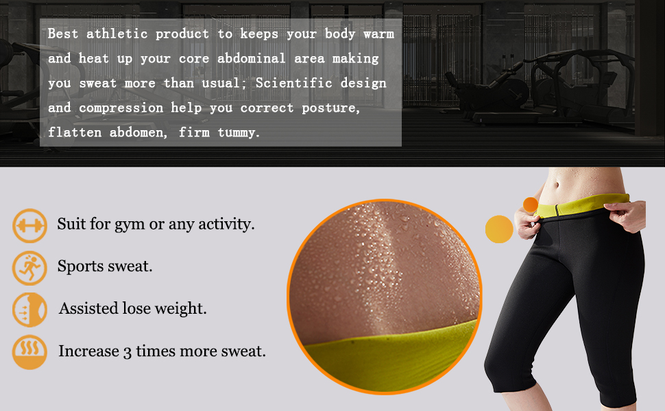 fc29ab2ee5eea Hisweet Body Shaper Sauna Suit Neoprene Sweat Weight Loss Vest for Women  Tummy Thermo Vest LDVstri-3