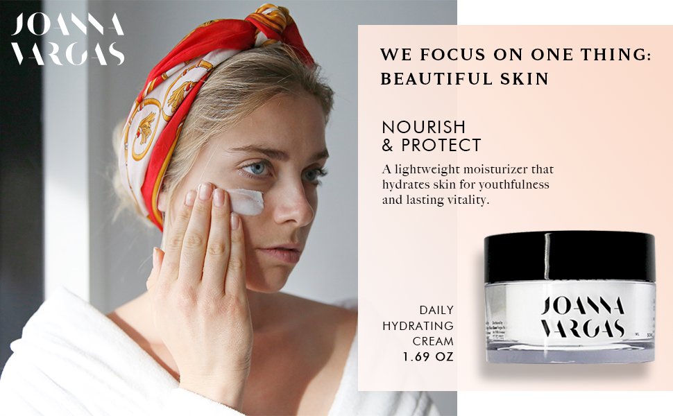 Face Moisturizer For Women - Daily Hydrating Cream By Celebrity Facialist  Joanna Vargas -
