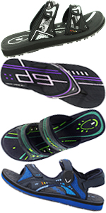 f6629e86d670 Gold Pigeon Shoes Men Women Sandals Flip Flops Slides Outdoor Water  Athletic GP Classic ...