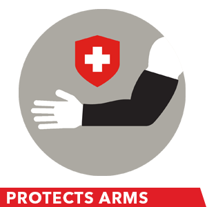 arm sleeve protect arm support muscle skinny arms