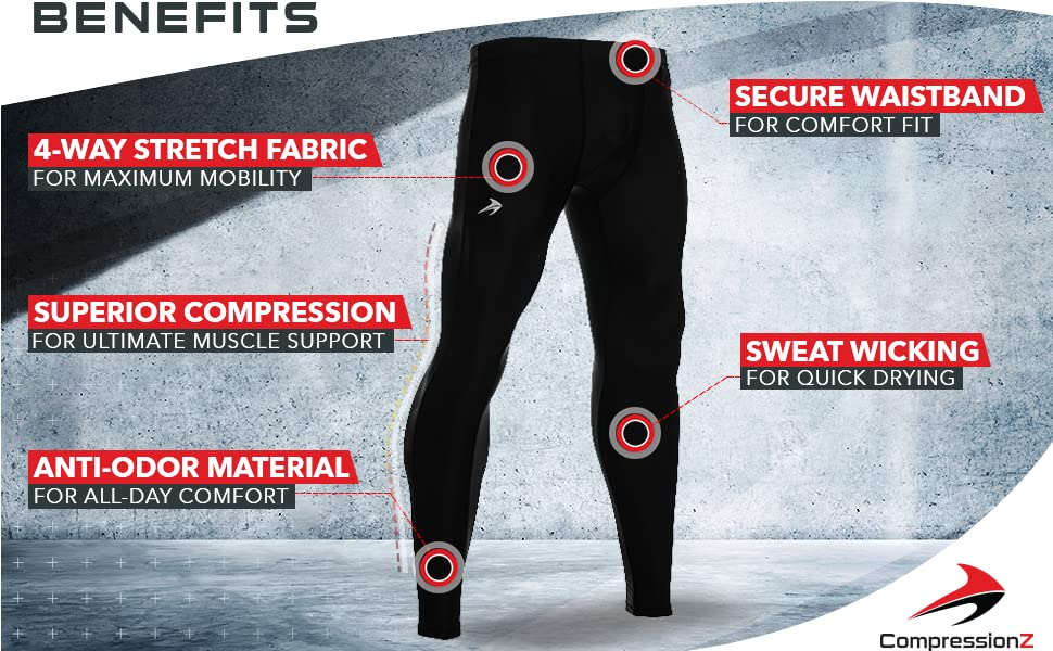 mens tights leggings for running crossfit working out cycling