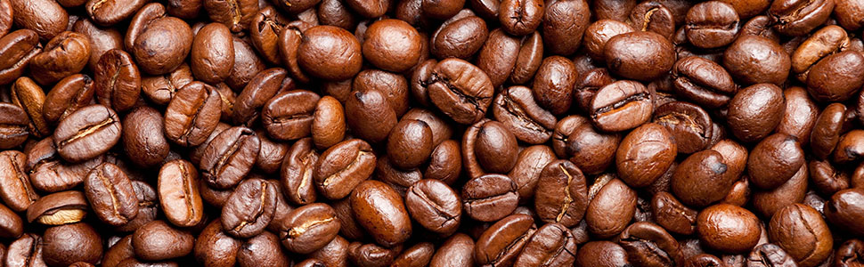 up close coffee beans white monkey promise