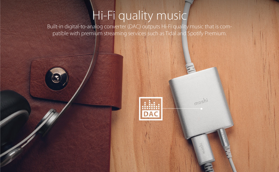 moshi usb-ctm digital audio adapter with charging review