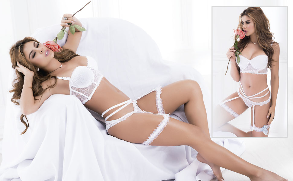 Besame Sexy Lingerie Bridal Set