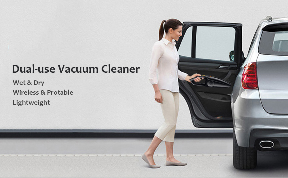 vacuum cleaner for wet and dry two-way usage