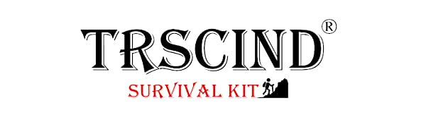 TRSCIND survival kits is a outdoor tools, Contains a variety of outdoor survival tools