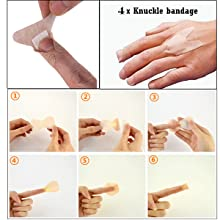 kunckle bangage in first aid kits