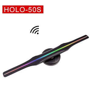 Commercial Furniture Furniture Brilliant 3d Hologram Advertising Fan 3d Hologram Advertising Player 3d Holographic Led Fan 65cm Wifi Card Support 1080p Evident Effect