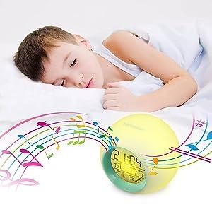 Amazon.com: Reloj despertador para niños de Hamswan – Reloj ...
