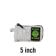 Aqua, 5-Inch Padded Pouch Soft Interior with Secure Heavy-Duty Zipper