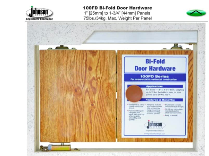 L.E Johnson 100FD724 4-Panel Hardware Set 72\