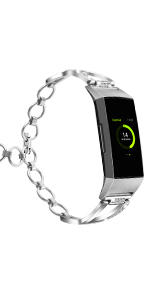 Amazon com: YiJYi Compatible with Fitbit Charge 3 Screen Protector