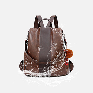 PINCNEL Women Backpack Purse PU Leather Anti-theft Backpack