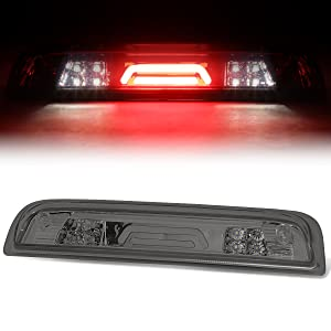 DNA motoring 3BL-GMC15-3D-LED-BK-SM Black Smoke 3BL-GMC15-3D-LED-BK 3D LED 3rd Third Brake Light