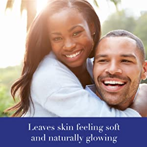 Leaves skin feeling soft and naturally glowing