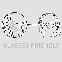 glasses friendly pro specs comfort