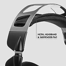 comfort comfortable metal headband gaming
