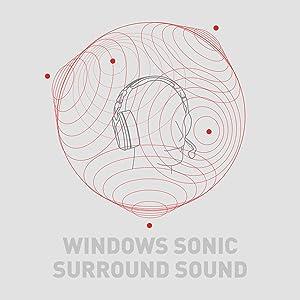 windows sonic surround sound gaming headset