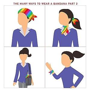 ways to wear bandanas 1