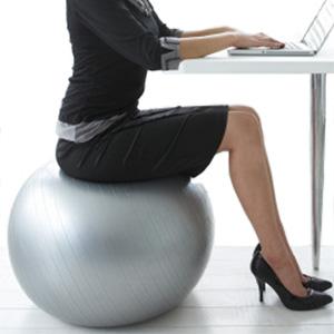 workout ball desk chair