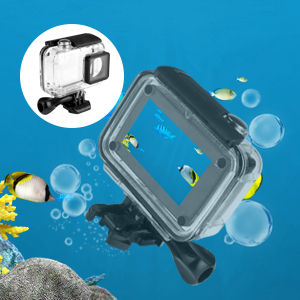 Kupton Accessories for Xiaomi YI 4K/ 4K+/ YI Lite/ YI Discovery 4K Action Camera 40m Waterproof Housing Case + Head Strap + Chest Harness + Car ...