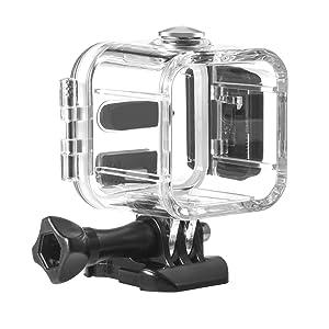 Kupton Waterproof Housing Case for GoPro Hero 5 Session/ Hero 4 Session/ Hero Session Action Diving Protective Shell 45 Meter with Bracket Accessories ...