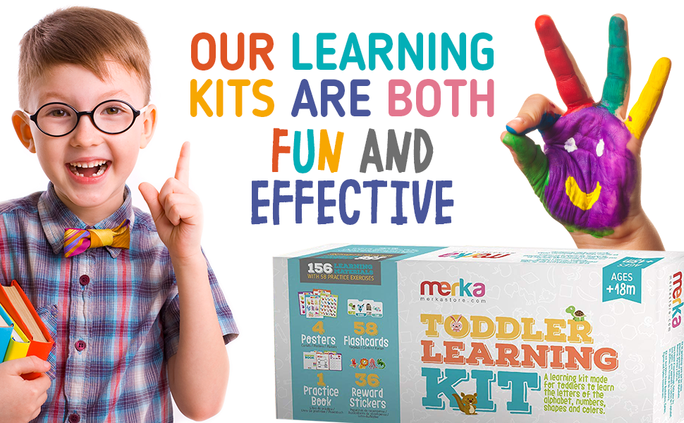 learning kits are fun and effective