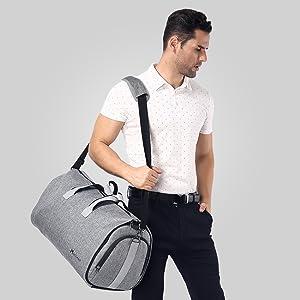 men travel duffel bag