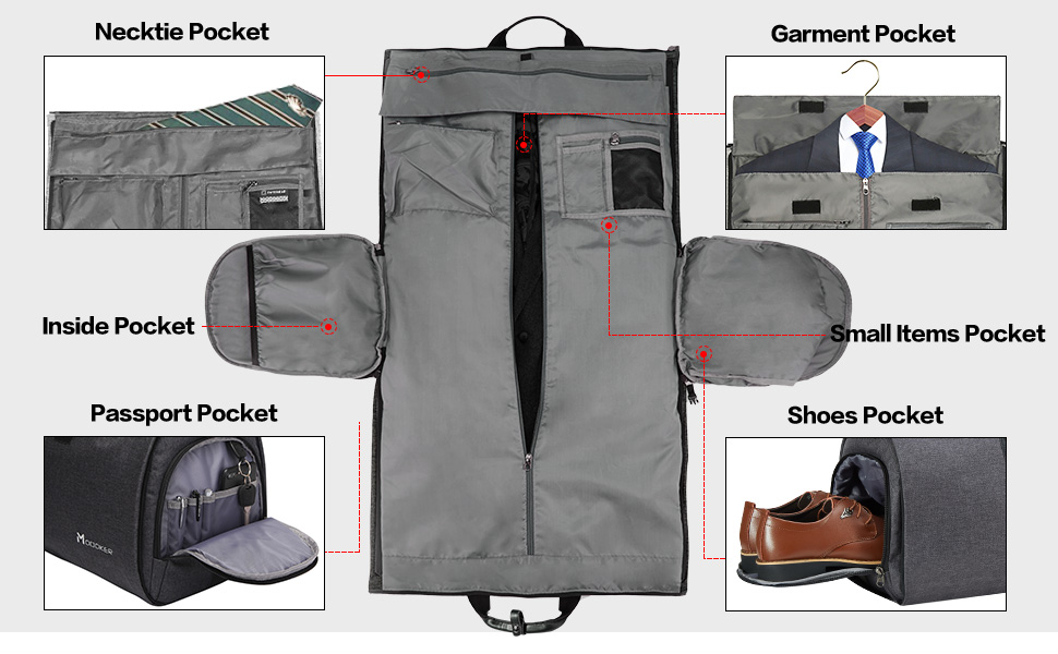 travel bag suit