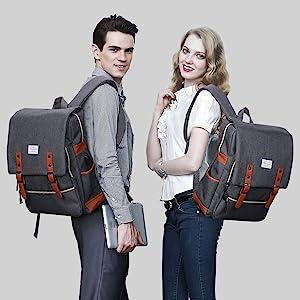 Modoker Laptop Backpack | Lifestyle Photo