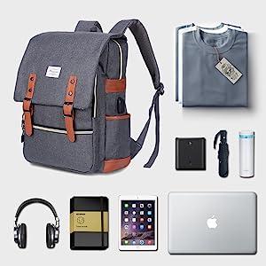 Modoker Backpack | RoomyMain Compartment